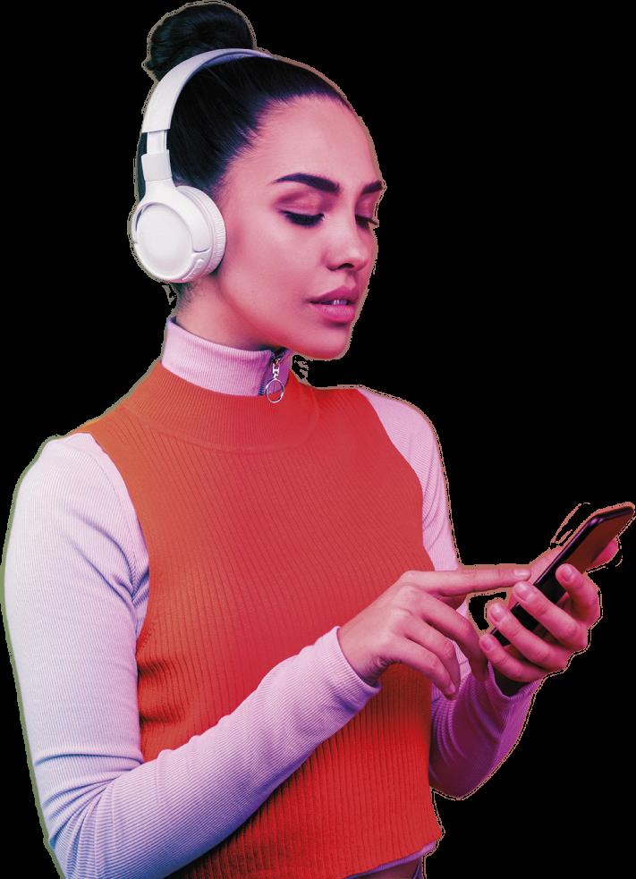 Autoescuela online con smartphone